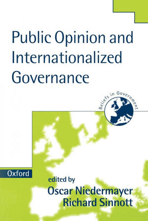 PUBLIC OPINION AND INTERNATIONALIZED GOVERNANCE