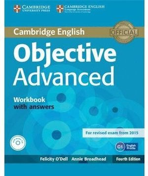 OBJECTIVE ADVANCED WORKBOOK WITH ANSWER
