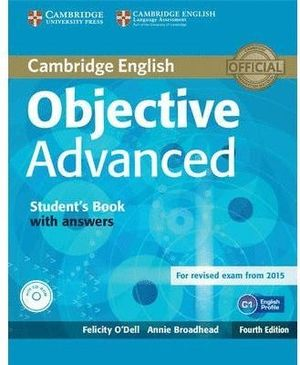 OBJECTIVE ADVANCED STUDENT'S BOOK WITH ANSWERS (CD-ROM)4TH ED
