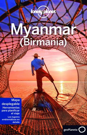 GUIA MYANMAR (BIRMANIA) LONELY PLANET 2017