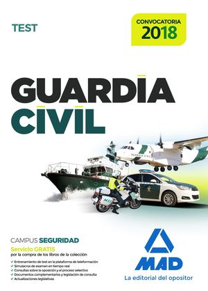 GUARDIA CIVIL TEST 2018