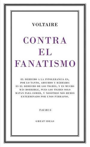 CONTRA EL FANATISMO (GREAT IDEAS 39)