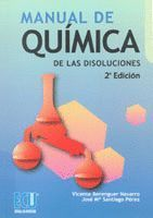 MANUAL DE QUIMICA DE LAS DISOLUCIONES