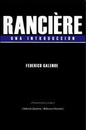 RANCIÈRE UNA INTRODUCCION