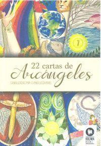 22 CARTAS DE ARCANGELES