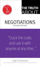 TRUTH ABOUT NEGOTIATIONS