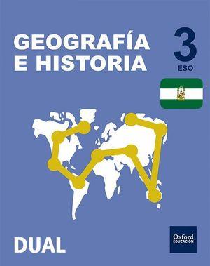GEOGRAFIA E HISTORIA 3ºESO. INICIA DUAL. ANDALUCIA