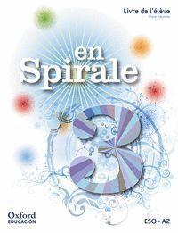 EN SPIRALE 3. LIVRE DE L'´ÉLÈVE + COMIC