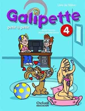 GALIPETTE PETIT A PETIT 4º EP. PACK LIVRE DE L'ELEVE + CD