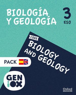 BIOLOGÍA Y GEOLOGÍA 3º ESO GENIOX PROGRAMA BILINGÜE ANDALUCÍA