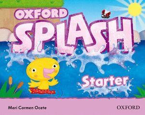 SPLASH STARTER. CLASS BOOK & SONGS CD PACK