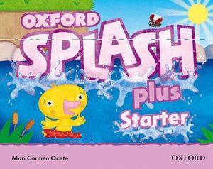 SPLASH PLUS STARTER. CLASS BOOK & SONG CD PACK