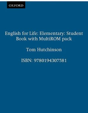 ENGLISH FOR LIFE ELEMENTARY STD. BOOK