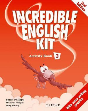 INCREDIBLE ENGLISH KIT 2ND EDITION 2. ACTIVITY BOOK