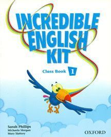 INCREDIBLE ENGLISH KIT 2ND EDITION 1. CLASS BOOK + MULTI-ROM