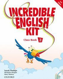 INCREDIBLE ENGLISH KIT 2ND EDITION 2. CLASS BOOK + MULTI-ROM