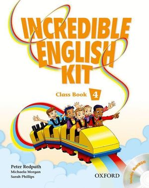 INCREDIBLE ENGLISH KIT 2ND EDITION 4. CLASS BOOK + MULTI-ROM