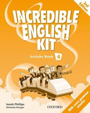 INCREDIBLE ENGLISH KIT 2ND EDITION 4. ACTIVITY BOOK