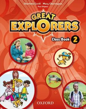 GREAT EXPLORERS 2 CLASS BOOK PACK