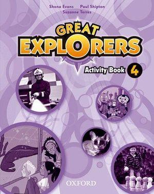GREAT EXPLORERS 4 ACTIVITY BOOK