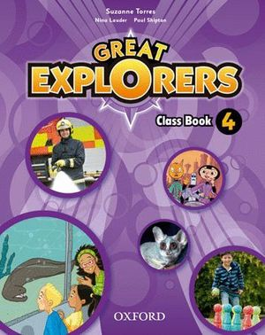 GREAT EXPLORERS 4 CLASS BOOK PACK