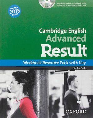 CAE RESULT WORKBOOK OXFORD