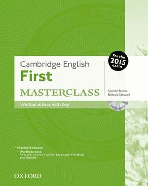 CERTIFICATE IN ADVANCED ENGLISH MASTERCLASS WORKBOOK WITH ANSWER KEY PACK EXAM 2