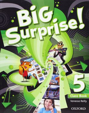 BIG SURPRISE 5: CLASS BOOK