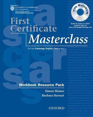 FIRST CERTIFICATE MASTERCLASS WORBOOK 2008