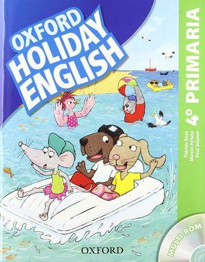 HOLIDAY ENGLISH 4º PRIM PACK