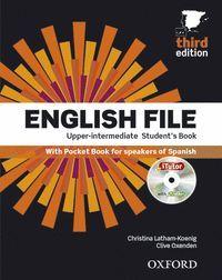 ENGLISH FILE 3RD ED UPPER-INTERMEDIATE. STD BOOK