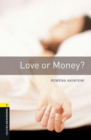 LOVE OR MONEY? OB-1 BOOK+MP3