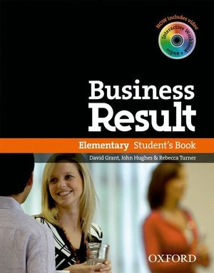 BUSINESS RESULT ELEMENTARY. STUDENT'S BOOK WITH DVD-ROM + ONLINE WORKBOOK PACK