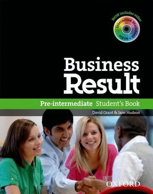 BUSINESS RESULT PRE-INTERMEDIATE: STUDENT'S BOOK WITH DVD-ROM AND