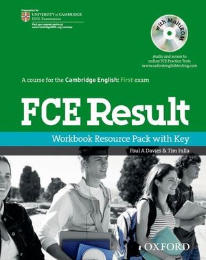 RESULT FIRST CERTIFICATE WB + KEY