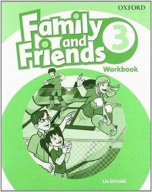 FAMILY & FRIENDS 3. ACTIVITY BOOK