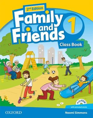 FAMILY & FRIENDS 1ºEP. CLASS BOOK PACK 2ª ED.