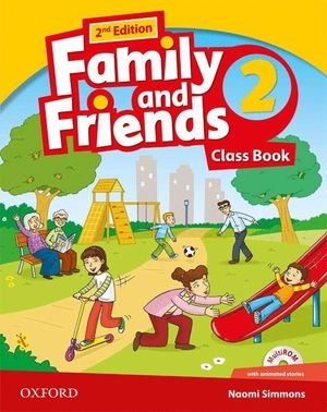 FAMILY & FRIENDS 2ºPRIMARIA CLASS BOOK PACK 2ª EDICION