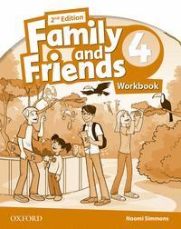 FAMILY AND FRIENDS 2ND EDITION 4. ACTIVITY BOOK