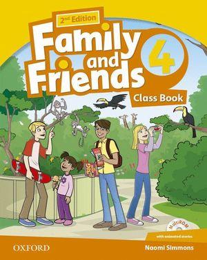 FAMILY & FRIENDS 4ºEP. CLASS BOOK 2ª.ED.