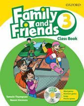 FAMILY & FRIENDS 3. CLASS BOOK AND MULTI-ROM PACK
