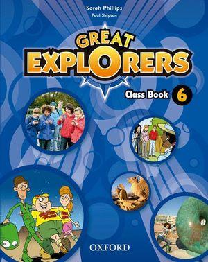 GREAT EXPLORERS 6 CLASS BOOK 2015