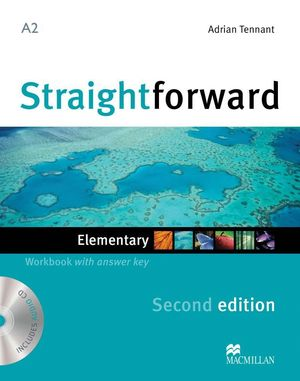 STRAIGHTFWD ELEM WB PK +KEY 2ND ED