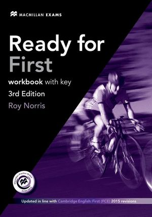 READY FOR FIRST WORKBOOK WITH KEY +CD 3ªED. EXAM 2015