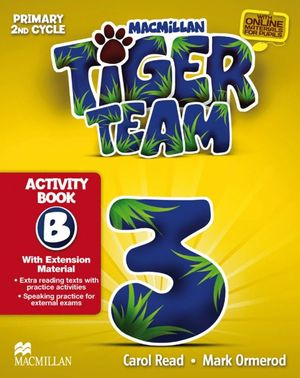 TIGER 3 ACTIVITY BOOK B PACK 2014