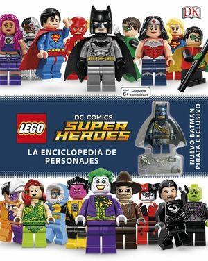 LEGO DC ENCICLOPEDIA DE PERSONAJES