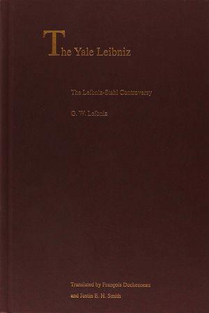 THE LEIBNIZ-STAHL CONTROVERSY