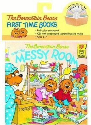 THE BERENSTEIN BEARS AND THE MESSY ROOM+CD