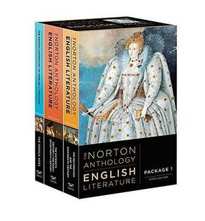 NORTON ANTHOLOGY ENGLISH LITERATURE 1, A-B-C, 10ED.