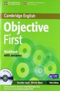 OBJECTIVE FIRST WORKBOOK WITH ANSWERS WITH AUDIO CD 3RD EDITION